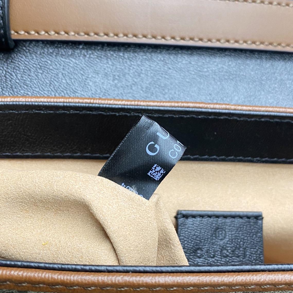 【P1130】一件代发 Gucci古奇2021新款padlock手提邮差包斜挎包小号20CM
