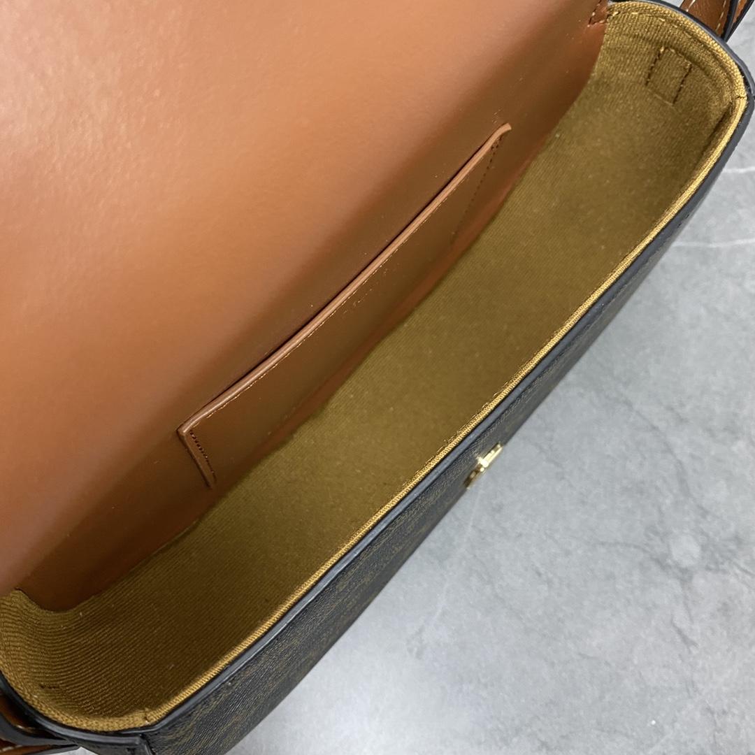 【P870】Celine TaBou Clutch 思琳2021秋冬单品手提单肩包101592 料棕