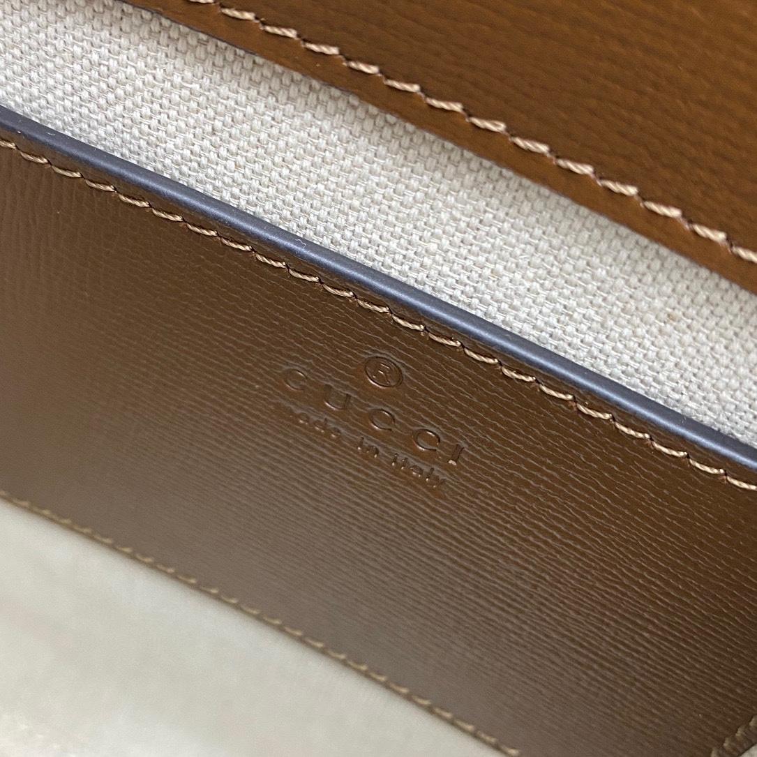 【P950】Gucci Retro mini tote 古驰671623迷你手提包单肩斜挎包19CM