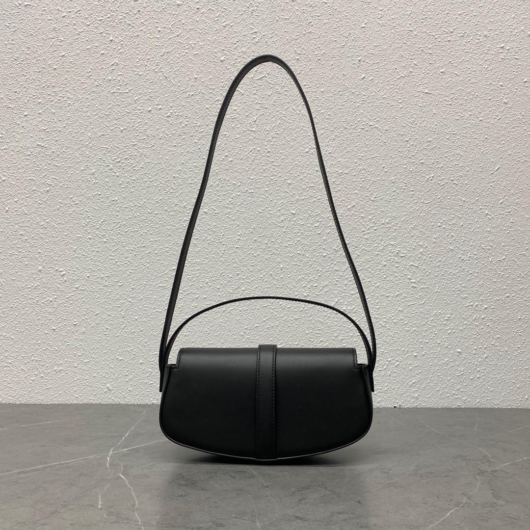 【P1020】思琳女包批发 Celine TaBou Clutch新款手拿单肩包18CM 黑色