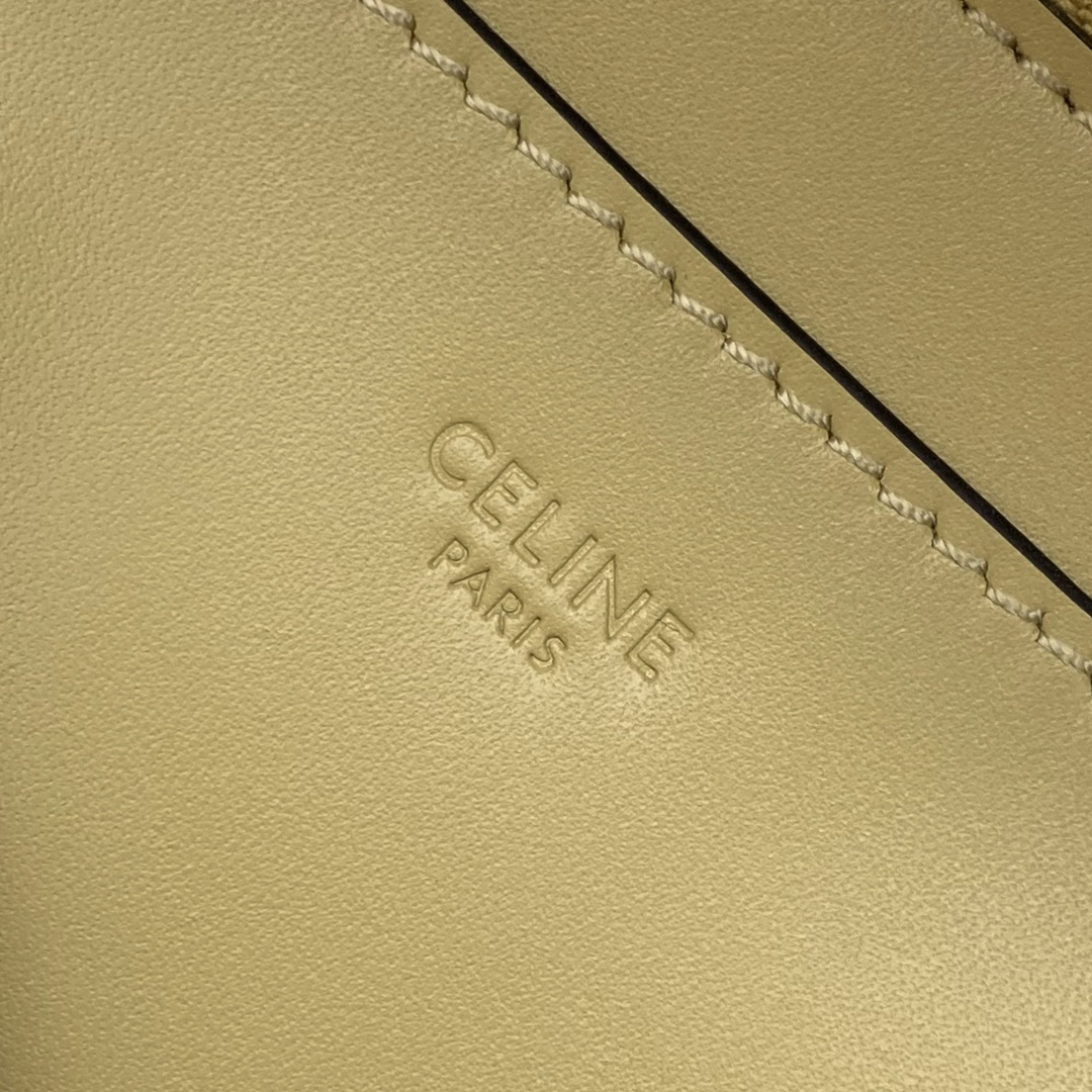 【P1950】厂家直销 Celine思琳秋冬小牛皮水桶包单肩斜挎女包 193043沙滩色